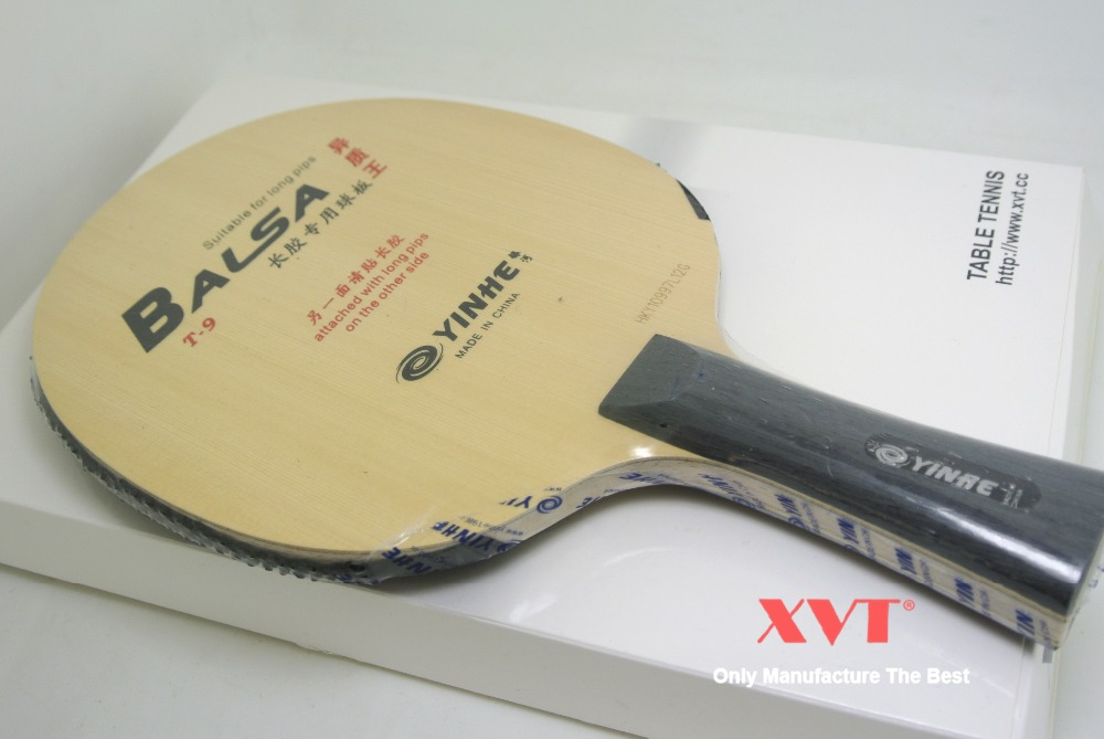 YINHE T9 Variant King Balsa Carbon With Long Rubber table tenis