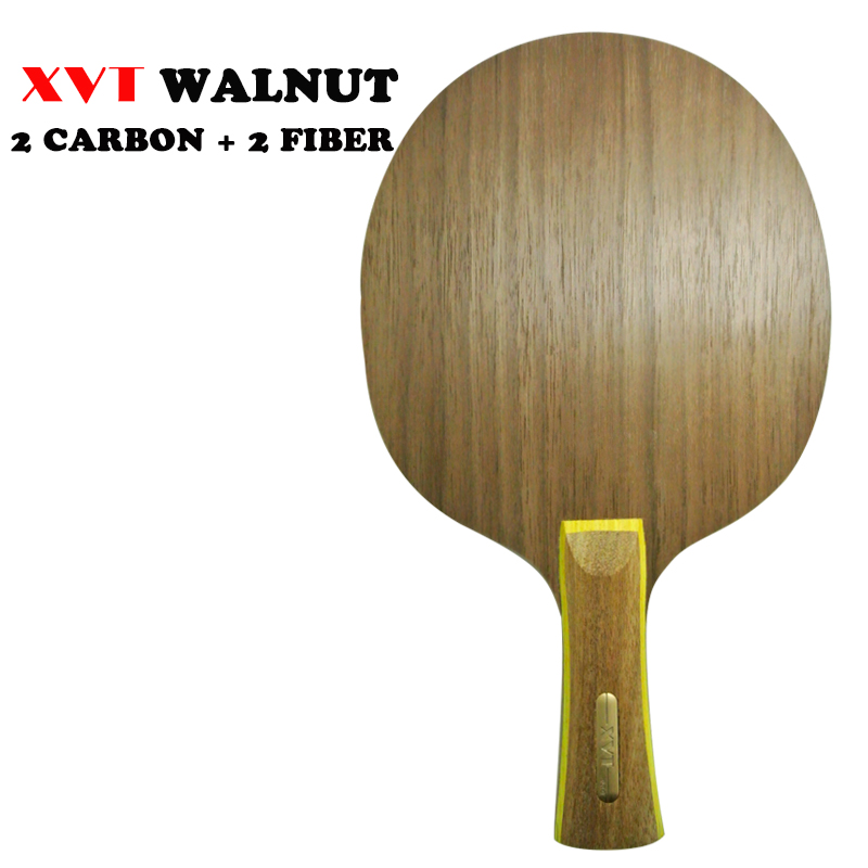 XVT Cannon Walnut CARBON Fiber Table Tennis blade