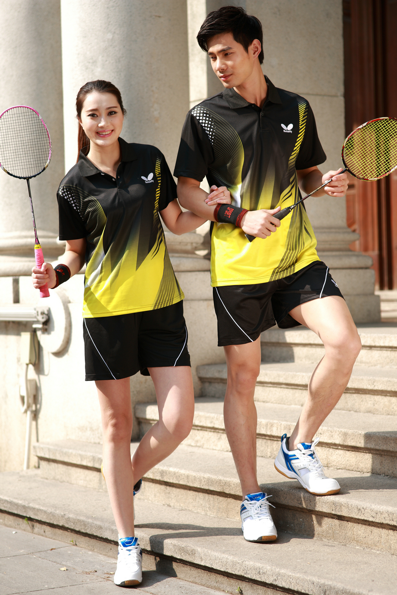 Butterfly Table Tennis T-shirts and Shorts 01